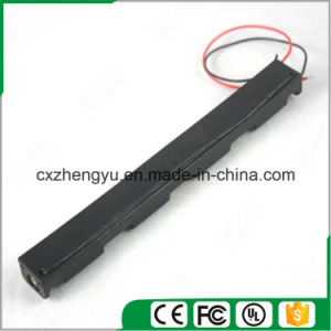 3AA Battery Holder with Red/Black Wire Leads (Longer Type) pictures & photos