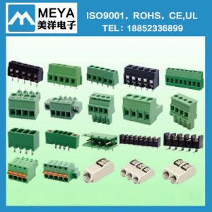 Tlps001V Tlps100V 3.5mm 3.81mm Green Orange Grey Terminal Block Ningbo Factory pictures & photos