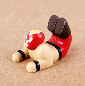 Resin Cartoon Figurine Funny Cell Phone Holder for Desk pictures & photos
