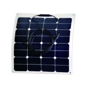 Flhigh Efficiency Sunpower Cell Exible Solar Panel 50W pictures & photos