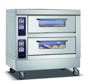 Three Compartment Gas Oven for Baking pictures & photos