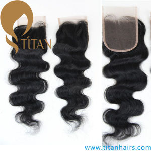 5A Remy Human Virgin Hair Lace Top Closure pictures & photos