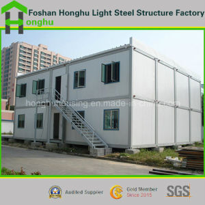 EPS Sandwich Panel Steel Modular Container House Cabins pictures & photos