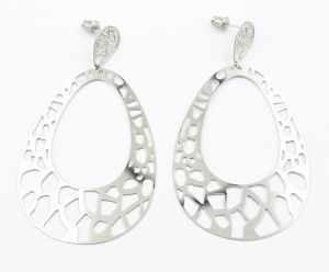 Multi-Layer Stainless Steel Fashion Earrings for Gift Jewelry pictures & photos