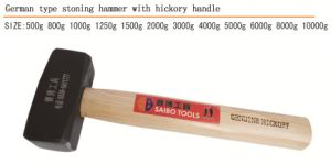 Good Quality Stoning Hammer with Wooden Handle pictures & photos