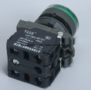 Keyway 22mm Illuminated Push Button Switch pictures & photos