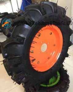 Wear-Resistant Rubber Wheel for Lawn Mower Wheel (4.00-8) pictures & photos