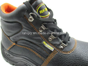 Orange Lining Professional Safety Shoes (HQ01011) pictures & photos