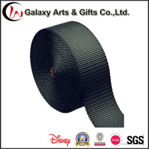 Factory Supply Customized Blank Polyester Plain Weave Webbing for Lanyards pictures & photos