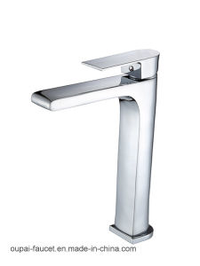 Oudinuo Brass Body Single Handle Basin Mixer 70041 pictures & photos