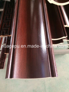Redwood Color PU Polyurethane Ceiling Cornice for Interior Decor pictures & photos
