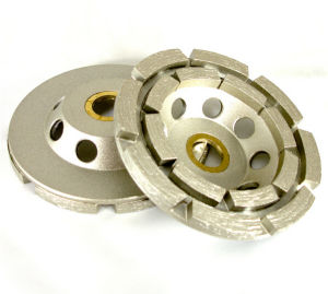 Double Row Diamond Grinding Wheel pictures & photos