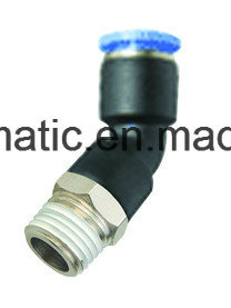 Pneumatic Air Fitting Female Tee for PU&PA Hose (Metric Size-R(PT) Thread Type) pictures & photos