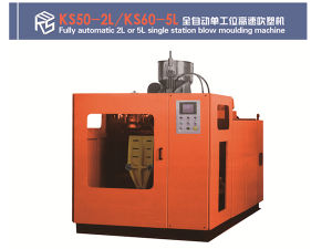 Automatic 1L Single Station Blow Moulding Machine pictures & photos