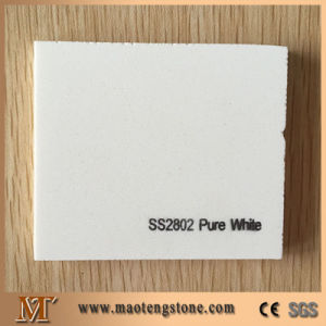 Pure White Artificial Quartz Stone pictures & photos