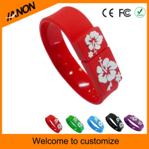 Wholesale 2.0 USB Wristband USB Flash Drive with Mixed Colors pictures & photos