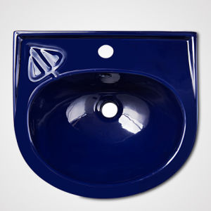Modern Classic Ceramic Wash Pedestal Basin for Hotel pictures & photos