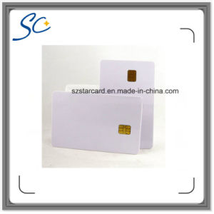 Cr80 RFID PVC Contact IC Smart Card with FM5528 Chip