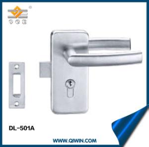 Stainless Steel 304 Single Glass Door Lock pictures & photos