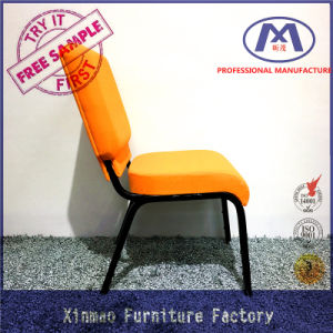 Manufacturer Produce Steel Auditorium Stacking Church Chair Seating pictures & photos