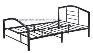 Indoor Home Furniture Metal Queen Size Bed pictures & photos