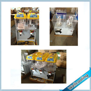 Competitive Price 2 Tanks 12L Fruit Juicer Machine Cold Juice Dispenser pictures & photos