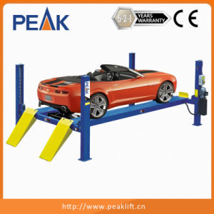 in Ground or Pit Mounting Automotive Four Post Hoist for Professional Carport (414) pictures & photos