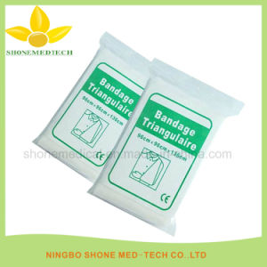 Non Woven Disposable Triangular Bandage for Orthopaedic Use pictures & photos