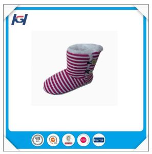 Latest Design Hot Selling Knitted Warm Ladies Winter Boots pictures & photos