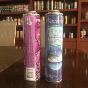 4 Color Printing OEM Aerosol Fresh Air Cans 300ml