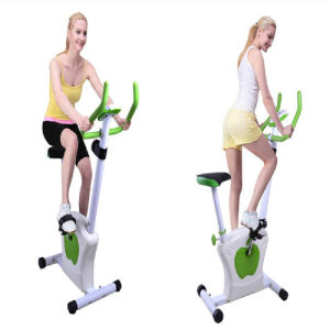 Multi Levels Adjustable Cardio Machine Magnetic Exercise Bike with Heart Rate Test pictures & photos