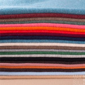 100% Double Sides Cashmere Fabrics for Winter Season in Gray pictures & photos