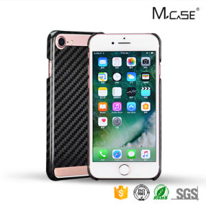 Decorative Low Price Fast Shipping Carbon Fiber Hollow Cover for iPhone 7 Protective Cover pictures & photos