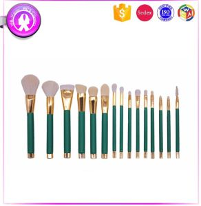 Top Quality 15 PCS Animal Hair Makeup Tool Makeup Brushes Kit pictures & photos