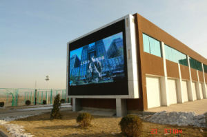 Outdoor Full Color Video LED Display Screen P4 Outdoor LED Die Casting Aluminum pictures & photos