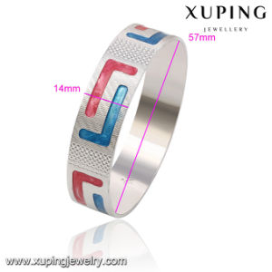 51472 Turkish Silver Jewelry Plain Sterling Silver Charm Bangle pictures & photos