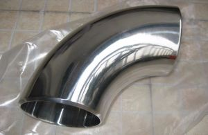 Elbow Butt Welded 90degree Long Radius R=1.5D ANSI B16.9 pictures & photos