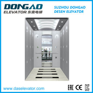 Gearless Energy Saving Small Machine Room Passenger Lift pictures & photos