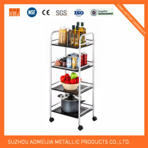 Hot Sale Metal Storage Display Wire Shelving pictures & photos