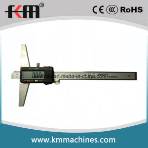 0-150mm/6′′ Stainless Steel Digital Depth Vernier Caliper pictures & photos