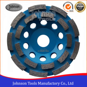 125mm Double Row Cup Wheel for Stone pictures & photos
