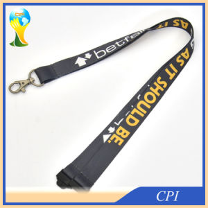Gray Hot Sale Custom Detachable Lanyard pictures & photos