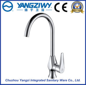 Chrome Plated Waterfall Kitchen Faucet (YZ5210) pictures & photos