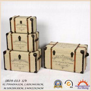 Home Furniture Decorative Creamy White Storage Box, Gift Box Jewelry Box pictures & photos