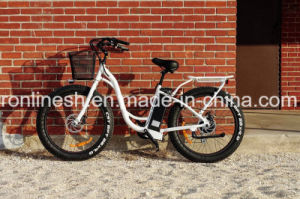 2017 New 250W/350W/500W Urban City Style Step Through 26X4 Fat Tire Electric Bike/E Bicycle/Pedelec/Electric Sand Bike/E Snow Bike Ce pictures & photos