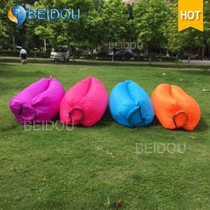 New 1-Mouth Inflatable Air Sofa Lazy Sleeping Bag Laybag pictures & photos
