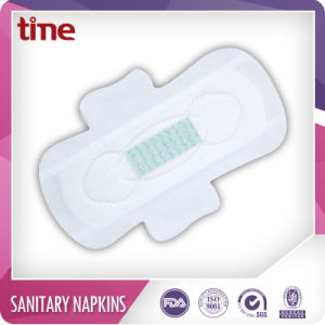 Winged Shape Super Type Anion Sanitary Napkins pictures & photos