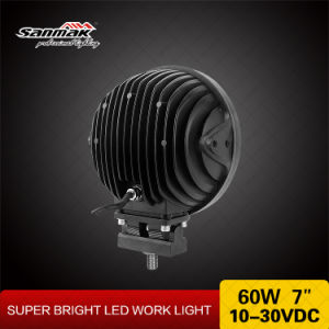 "7"" 60W Us CREE LED Spotlight Offroad Driving Light pictures & photos"