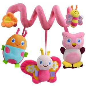 Plush Baby Hanging Toy with Sound for Newborn pictures & photos