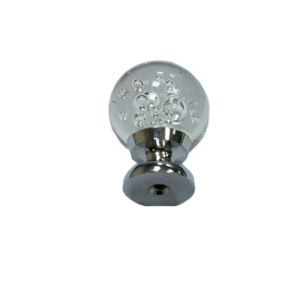 Factory Price Crystal Glass Furniture Kitchen Cabinet Hardware Door Handle Knob (CK 002) pictures & photos